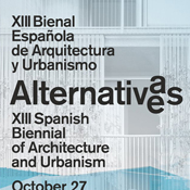 The Scaffold House at the exhibition of the XIII Spanish Biennial of Architecture and Urbanism - Alternatives in New York