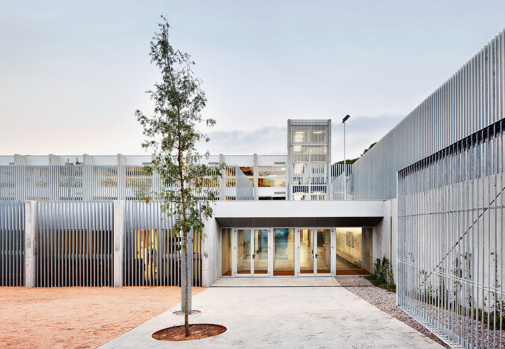 terrace school - primary and high-school in Lloret de Mar, Girona